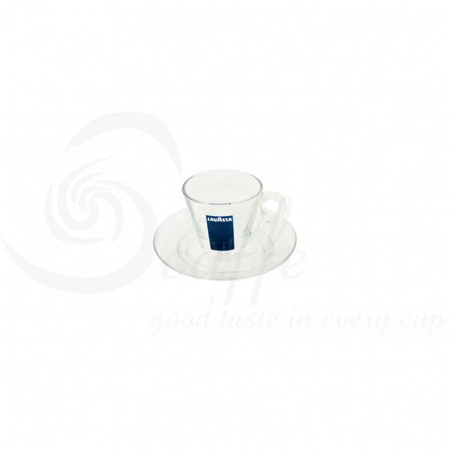 Farfurie pentru ceasca espresso sticla (12Buc./ Set)