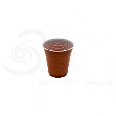 Pahare Plastic Automate Bicolore, 166 ml, 100 buc
