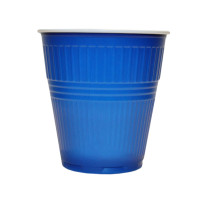 Pahare Plastic Coveris Expert Covim Albastre, 166 ml, 3600 buc