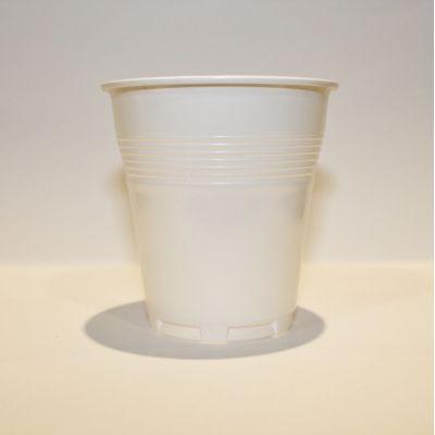 Pahare Plastic Coveris Covim Albe, 166 ml, 100 buc