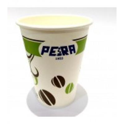 Pahare Carton Pera, 190 ml, 100 buc