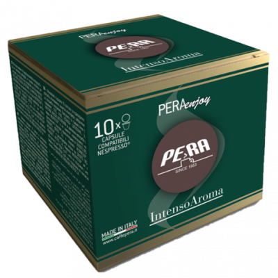 Capsule Cafea Pera Enjoy Nespresso, 10 buc Intenso