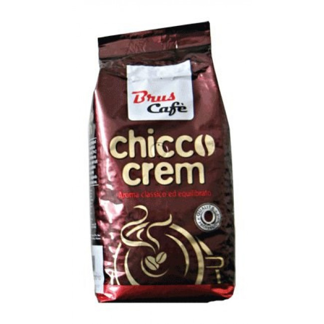 Cafea Boabe Brus, 1 kg Chicco Crem