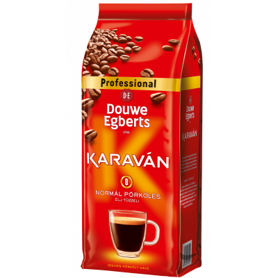 Cafea Boabe Douwe Egberts, 1 kg Karavan