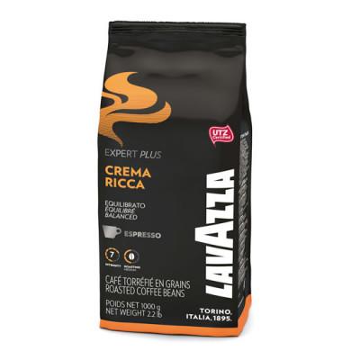 Cafea Boabe Lavazza, 1 kg Expert Crema Ricca