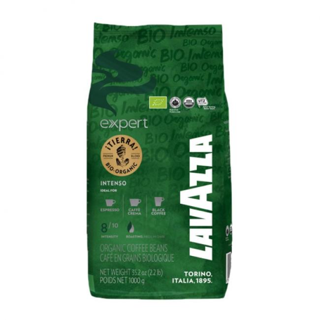 Cafea Boabe Lavazza, 1 kg Expert Tierra Bio Organic Intenso