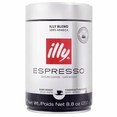 Cafea Macinata Illy, 250 g Dark Roast, 12 buc