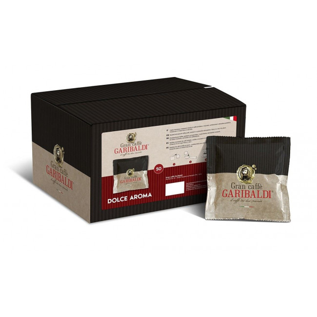 Monodoze (Cialde) Cafea Garibaldi, 50 buc Dolce Aroma