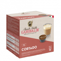 Capsule Cafea Garibaldi Dolce Gusto, 16 buc Cortado