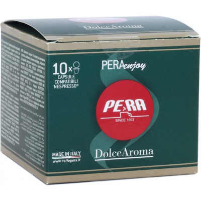 Capsule Cafea Pera Enjoy Nespresso, 10 buc Dolce Aroma