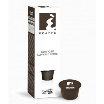 Capsule cafea Caffitaly E'caffe Corposo 10 buc