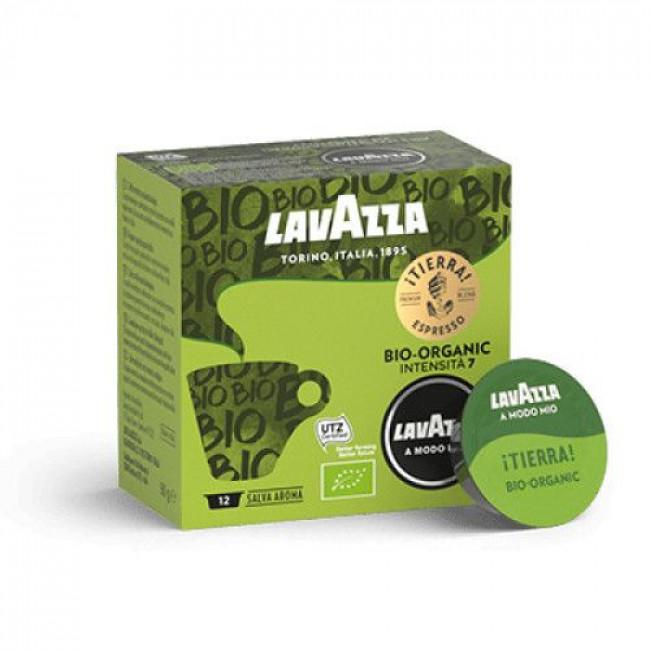 Capsule Cafea Lavazza A Modo Mio, 12 Buc Tierra Bio
