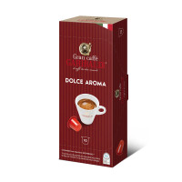Capsule Cafea Garibaldi, 10 buc Dolce Aroma Nespresso