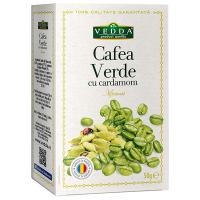Cafea Verde cu Cardamon 50 g