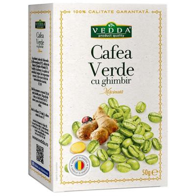 Cafea Verde cu Ghimbir 50 g