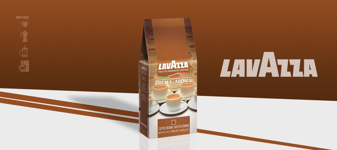 Cafea Boabe Lavazza Crema E Aroma Maro