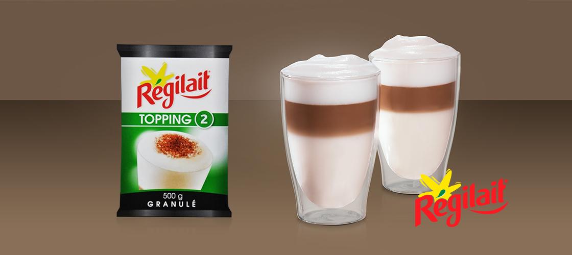 Lapte Regilait Topping 2