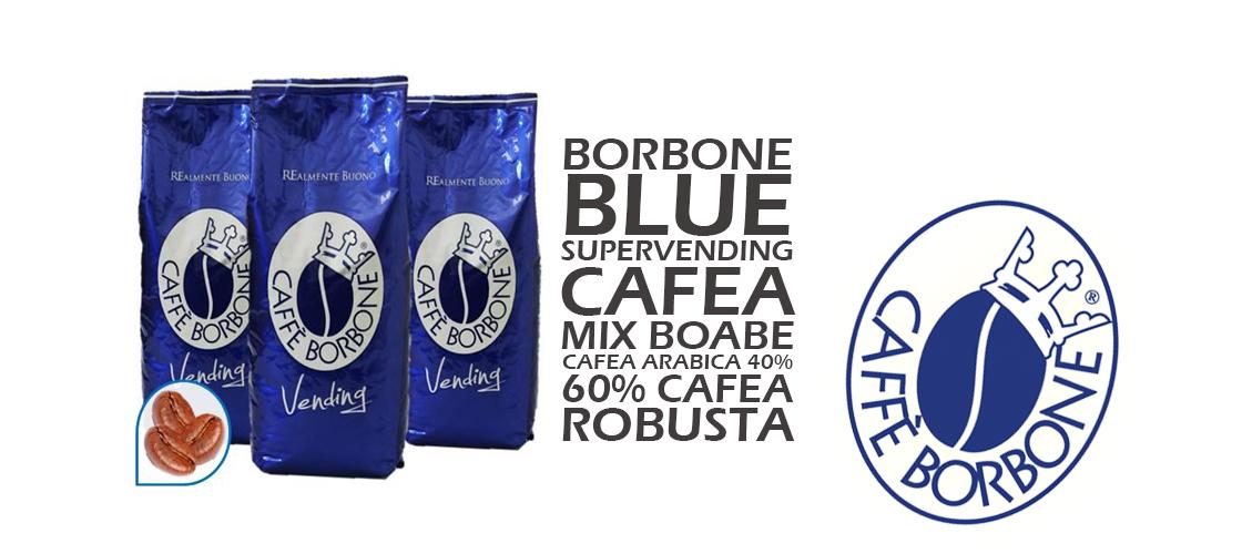 Cafea Boabe Borbone Blue Supervending