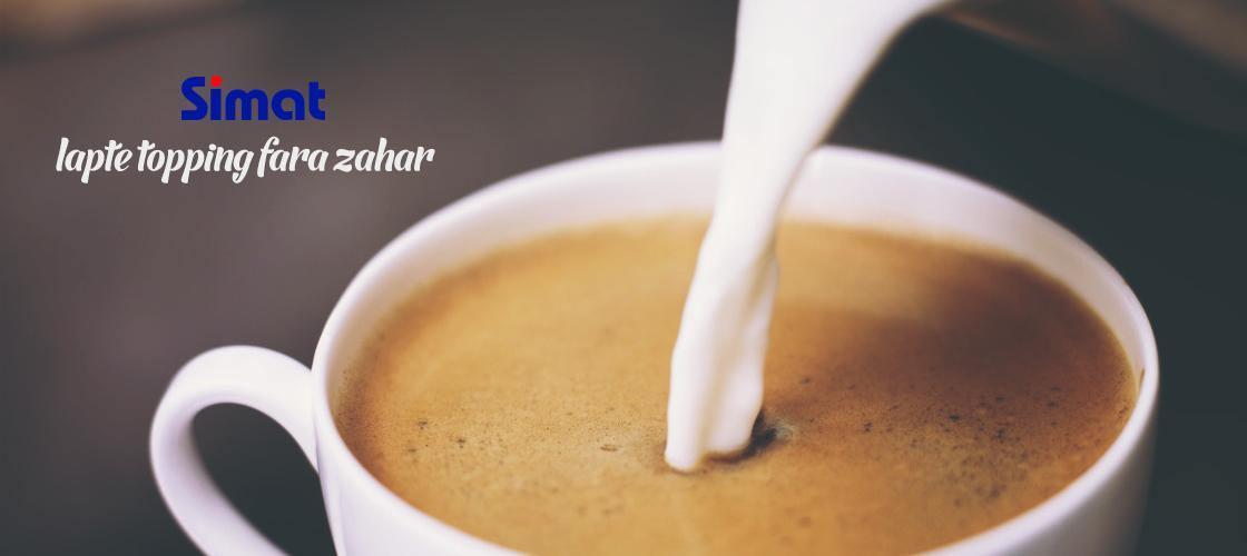 Lapte Topping Fara Zahar Simat