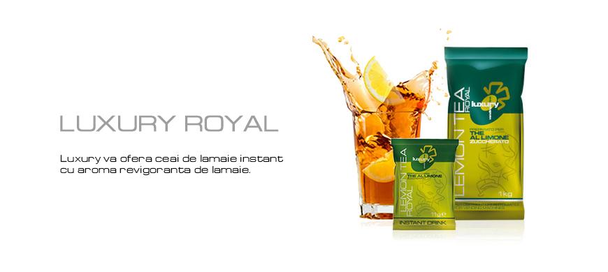 Ceai lamaie instant Luxury Royal
