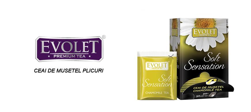 Ceai de Musetel Evolet 20 plicuri