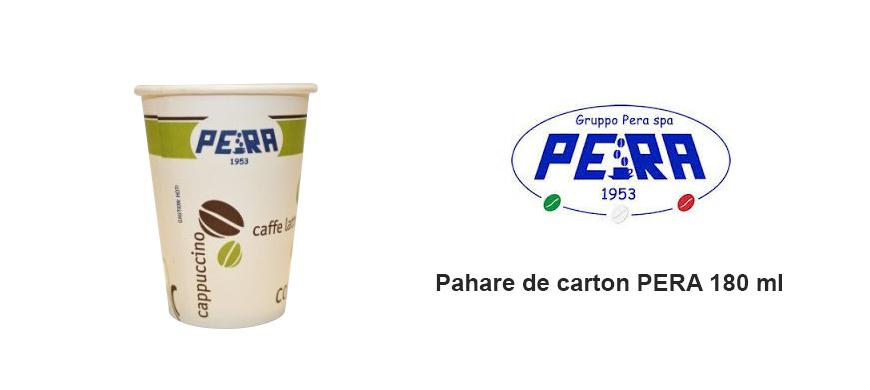 Pahare Carton Pera 190 ml