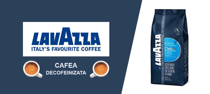 Cafea boabe Decofeinizata Lavazza