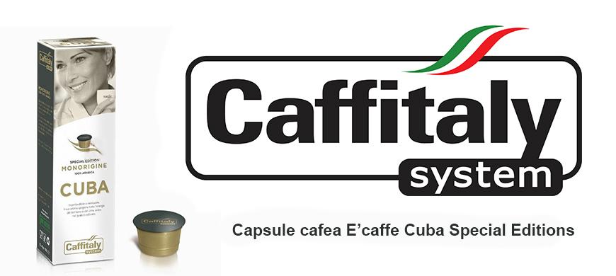Capsule cafea E'caffe Cuba Special Editions