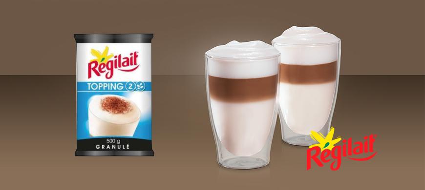 Lapte Regilait Topping 2 New