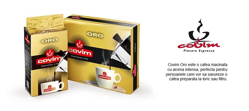 Cafea macinata Covim Oro