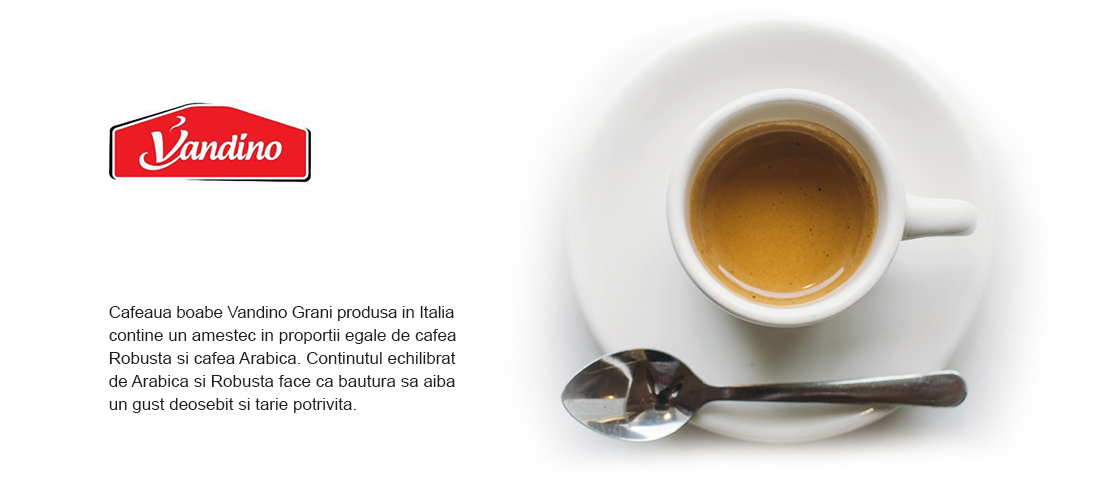 Cafea Vandino Espresso Grani 3Kg