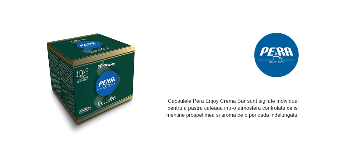 Capsule Pera Enjoy Crema Bar compatibile Nespresso