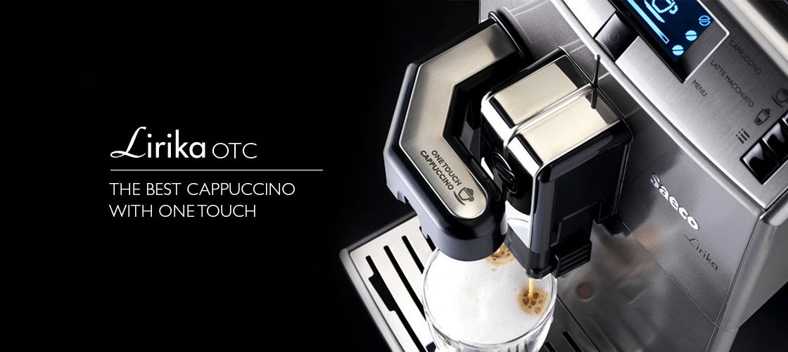 Aparat Lirika One Touch cappuccino