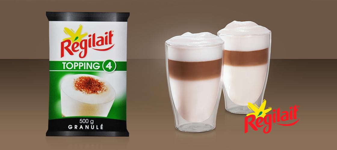 Lapte Regilait Topping 4