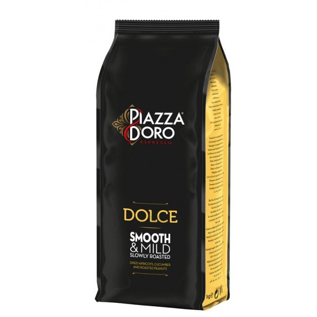 Douwe Egberts Cafea Boabe Piazza D'oro Dolce, 1 kg